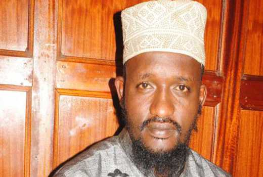 Photo of A Sheikh Linked With Being Member Of Al-Shabab Charged