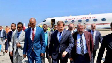 Turkish Deputy PM Arrives In Somalia Capital