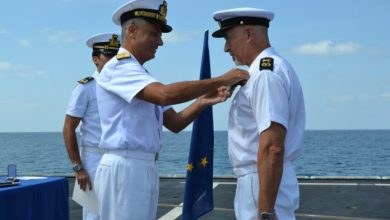 Photo of EU NAVFOR Officer Receives EU Medal And Commendation