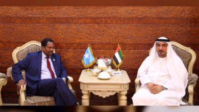 Photo of UAE Ambassador Meets New Mayor Of Mogadishu