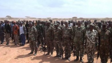 Photo of Soldiers Defected From Somaliland Surrender To Puntland Authorities