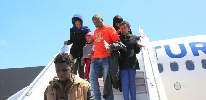Photo of Eleven Somali Migrants Evacuated From Libya Arrive In Mogadishu