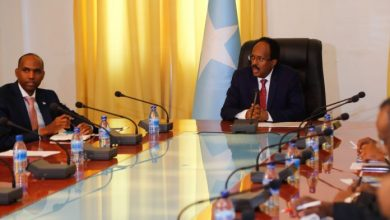 Photo of Somali President Opens A Security Meeting In Mogadishu