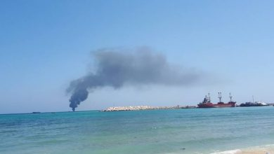 Photo of A Merchant Vessel Catches Fire Near Bosaso Port