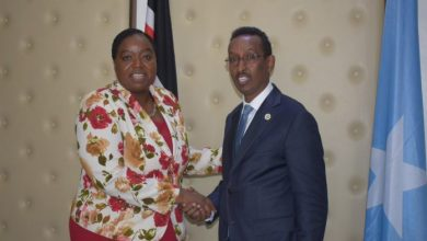 Photo of Somalia, Kenyan Foreign Ministers Discuss Border Security Wall Contruction