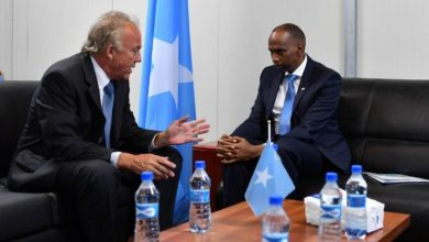 Photo of Somali PM Meets With UN Envoy Michael Keating In Mogadishu