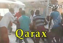 Qarax lagu dhamaaday oo ka dhacay Muqdisho gaar ahaan wadada Makka Al Mukarama