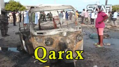 Photo of Qarax qasaare dhaliyay oo ka dhacay Muqdisho gaar ahaan agagaarka Sayidka