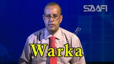 Photo of WARKA 07 03 2018 Dhalinyaro Soomaaliyeed oo ku dhibaateysnaa dalka Libya oo magaalada Muqdisho la keenay