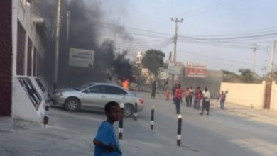 Photo of Car Bomb Blast Wounds At Least Three In Somali Capital