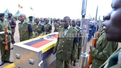 Photo of Bodies Of Eight UPDF Soldiers Killed In Somalia Flown To Uganda
