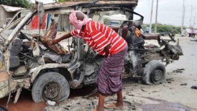 Bomb blast at packed Somalia stadium kills 5 football fans