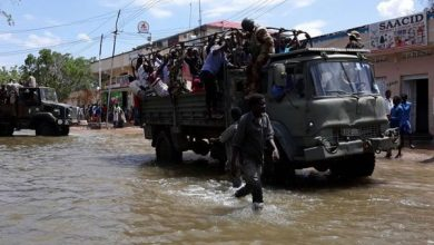 Peacekeepers to the rescue as floods overwhelm Somalia