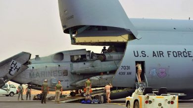 Photo of US military grounds aircraft in Djibouti after successive accidents