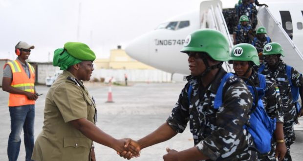 Sierra Leone Deploys 160 Police Officers To Somalia