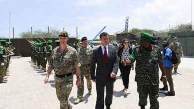 UK Minister Lauds AMISOM For Its Role In Securing Somalia