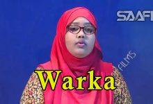 WARKA 15 04 2018 Soomaaliland oo xukun adag ku riday Naciimo Abwaan Qorane oo magaalada Muqdisho tagtay fikirkeedana ka hadashay