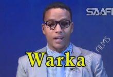WARKA 22 04 2018 Wasiirada ah musharaxiinta gudoomiyaha baarlamaanka ah oo loo sheegay in ay marka hore wasiirnimada iska casilaan