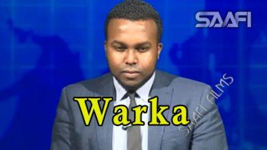 WARKA 23 04 2018 Ciiadamo ka wada tirsan dowlada Soomaaliya oo magaalada Muqdisho dagaal culus ku dhex maray
