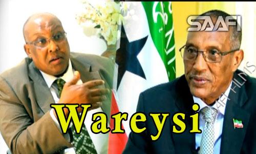 Wareysi xiiso badan su'aalo adag oo la weydiiyay Madaxweynaha Soomaaliland Muuse Biixi & wariye Hareeri
