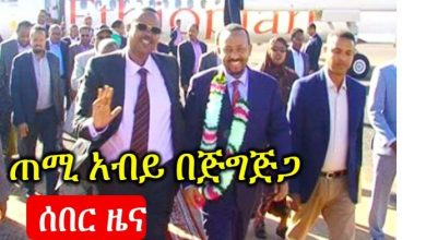 Ethiopian PM Visits Conflict-Hit Somali Regional State