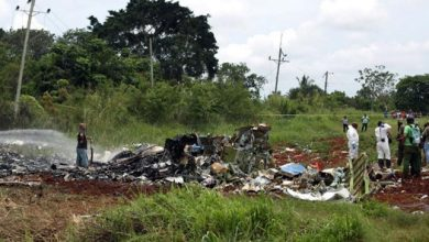 Passenger plane crashes in Cuba, killing more than 100 people