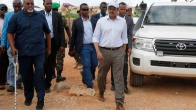 President Farmajo Calls For Aid To Flood Victims In Beledweyne
