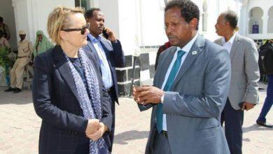 Photo of Mogadishu Mayor Receives World Bank Delegation At His Office