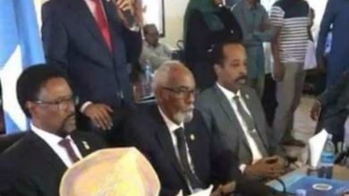 The Newly Elected Somali Parliament Speaker Takes Office