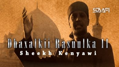 Photo of Dhaxalkii Rasuulka Part 11 Sh. Kenyawi Saafi Films Studio Cairo