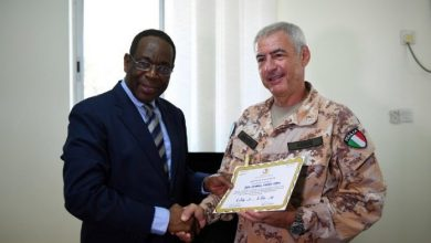 Photo of AU Envoy Honours EU Officers For Distinguished Service In Somalia