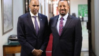 Photo of Somali PM Meets With His Ethiopian Counterpart In Addis Ababa
