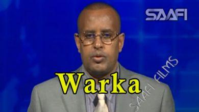 WARKA 17 05 2018 Golaha wasiirada oo ansixiyey shariciga duulista hawada Soomaaliya