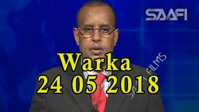 Photo of WARKA 24 05 2018 Raisulwasaare Kheyre oo sagaashan maalin u qabtay wasiirka amniga iyo maamulka gobolka Banaadir
