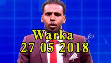 Photo of WARKA 27 05 2018 Madaxweyne Farmaajo oo xilkii ka qaaday gudoomiyihii maxkadamada sare mid kalena magacaabay