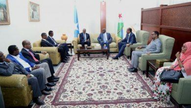 Somali PM In Djibouti For Talks With President Gelleh