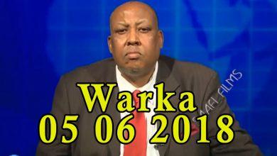 Photo of WARKA 05 06 2018 Dilalka qorsheysan ee ka dhaca magaalada Muqdisho oo la sheegay in ay Shabaab keliya fulinin