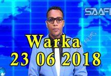 WARKA 23 06 2018 Wiil yar oo ganacsi farsameysan ka horbilaabay hoteelada waaweyn ee ku yaala xeebta Liido