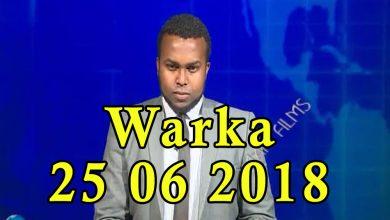 Photo of WARKA 25 06 2018 Munaasibada xuska xuriyada gobolada Waqooyi ee 26ka Juun oo Muqdisho lagu qabtay