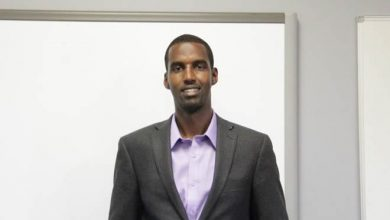 Photo of Edmonton man leaves high-paying job to build school in his home country of Somalia
