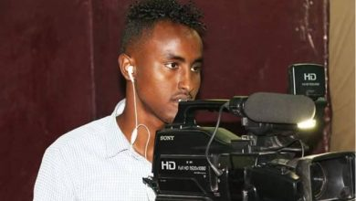 Photo of Somali TV cameraman killed in Mogadishu
