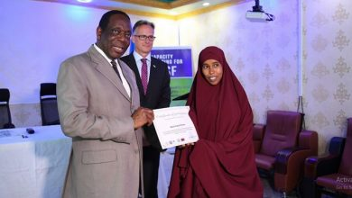 Photo of Somali security officials conclude training on gender equality and human rights