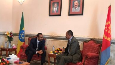 Foes Ethiopia, Eritrea pledge to open embassies as leaders embrace