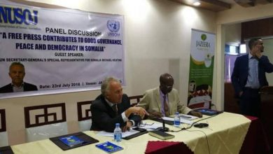 UN Special Envoy Joins NUSOJ-Led Discussion On Role Of Media In Somalia