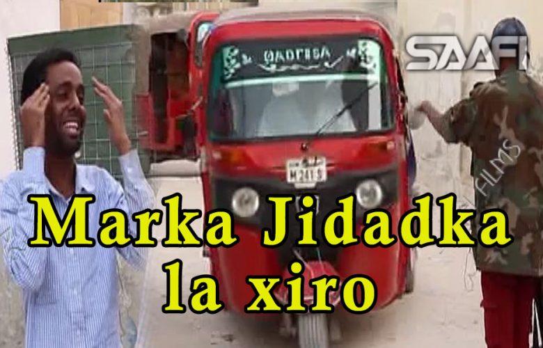 Sheeko Gaaban marka jidadka la xiro qaabka ay shacabka ula dhaqamaan askarta