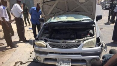 Photo of Car Accident Wounds One In Somali Capital