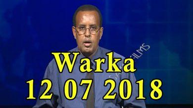 Photo of WARKA 11 07 2018 Shir ku saabsan soo celinta ganacsigii Soomaaliya iyo Talyaaniga oo magaalada Muqdi