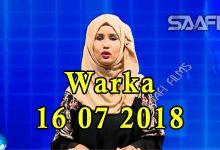 WARKA 17 07 2018 Soomaaliland oo sheegtay in waxba ka quseynin shirka arimaha Soomaalida ee Belgium ka socda