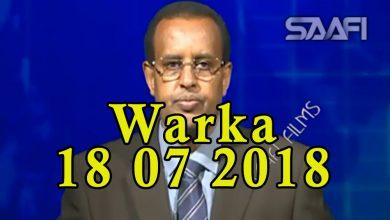 Photo of WARKA 18 07 2018 Faysal Cali Waraabe oo sheegay in shirkii Belgium uu ku matalayey Soomaaliland
