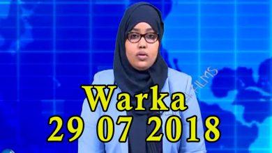 Photo of WARKA 29 07 2018 Raisulwasaare Kheyre iyo wefdi uu hogaaminayo oo lagu soo dhaweeyey magaalada Garoowe